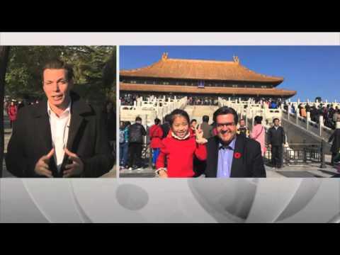 Le maire Coderre amorce sa visite chinoise à Shanghai