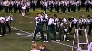 Strongsville Marching Band -On Fire! - Trombone Suicide at Taliek Field 1999