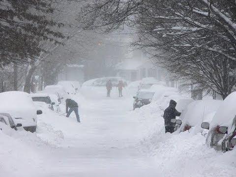 Снегопад в США 2014, Снежная буря на юге Америки, Новости