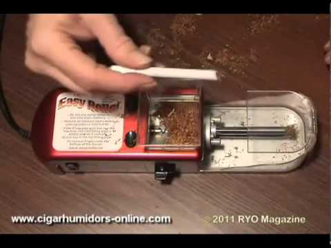 Easy Roller Electric Cigarette Injector (How it Works Overview - Part 1)