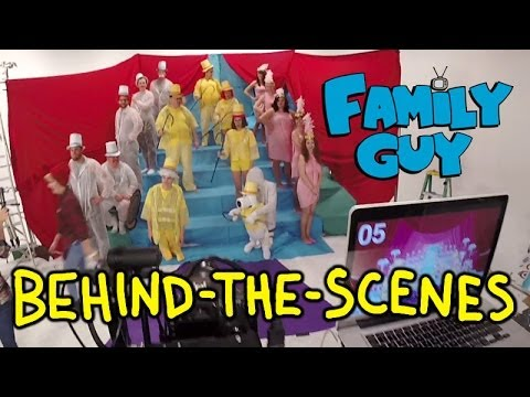 Family Guy Live Action Intro Homemade for Volume 12 DVD (Behind the Scenes)