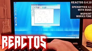 ReactOS on real hardware ThinkPad T430 with Btrfs and Ethernet working!