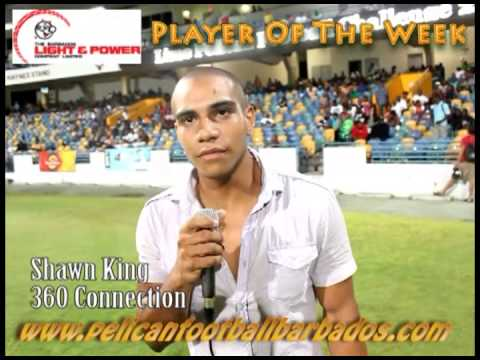 Player Of The Week - Shawn King - Sponsored By Barbados Light & Power Company