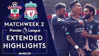 Southampton v. Liverpool | PREMIER LEAGUE HIGHLIGHTS | 8/17/19 | NBC Sports