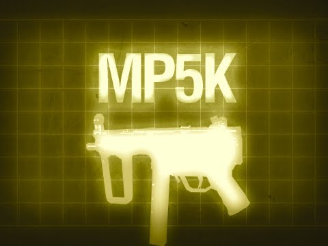 MP5K - Black Ops Multiplayer Weapon Guide