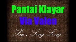 Via Valen - Pantai Klayar Karaoke No Vocal