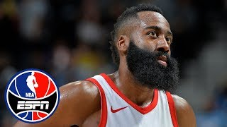 Has James Harden already wrapped up NBA MVP? | NBA Countdown | ESPN