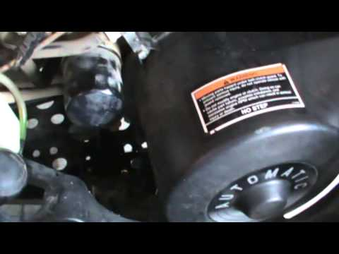 2008 Polaris Sportsman 500 HO Oil Change