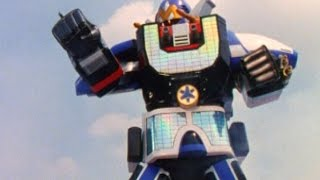 Lightspeed Solarzord First Megazord Fight (Power Rangers Lightspeed Rescue)