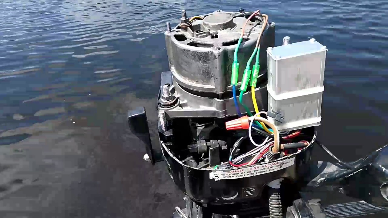 Лодочный генератор своими руками 332