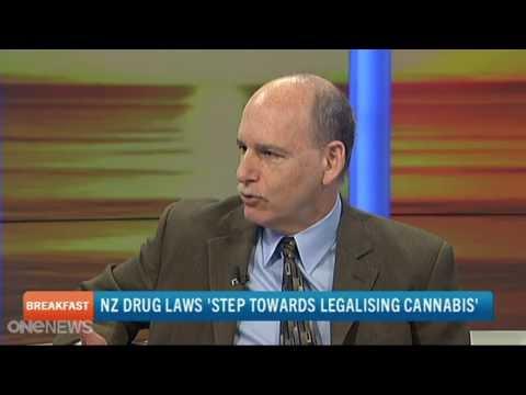 Ethan Nadelmann on New Zealand TV Taking about Legalizing Marijuana