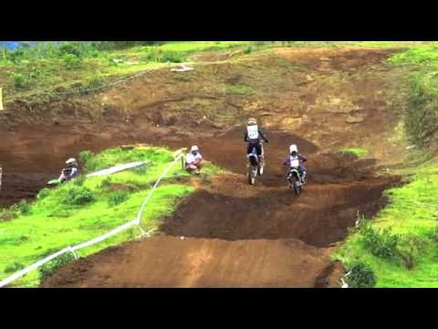 Final Motocross 2012. Melissa Tencio Campeona Femenino video