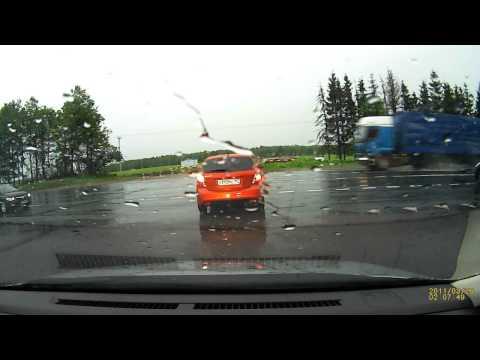 ДТП на минском шоссе 18.05.2013 (авария)