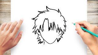 How to Draw Anime Hair Step by Step for Beginner