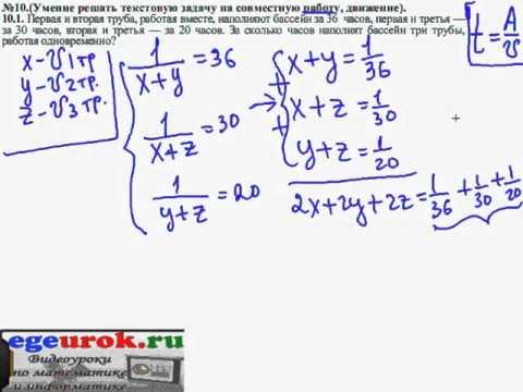 как решать в12 по математике
