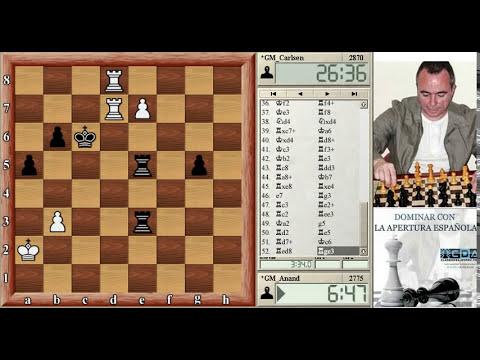 Campeonato del mundo de ajedrez 2013 Anand Carlsen mundial de ajedrez 2013 cuarta partida