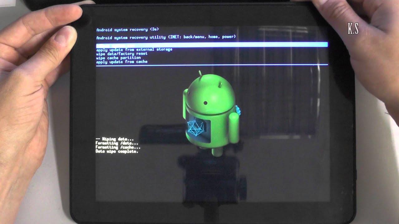 Как сделать хард ресет на планшете мегафон