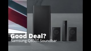01. Samsung Sound Bar Q850T - Unboxing, Setup and Review