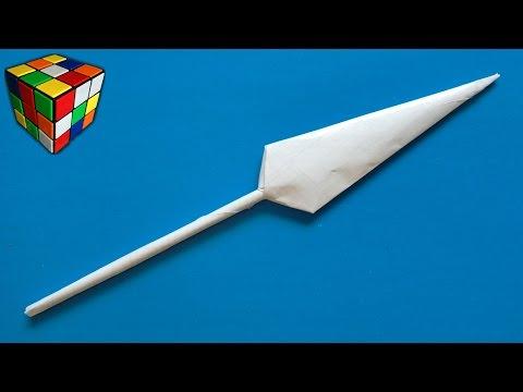 Как сделать нож из наруто из бумаги