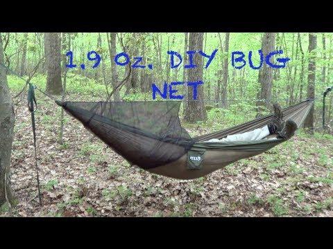 1.9 oz. DIY Hammock Bug Net