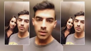 Joe Jonas and Demi Lovato Reveal Being Trapped in Elevator Was a Hoax