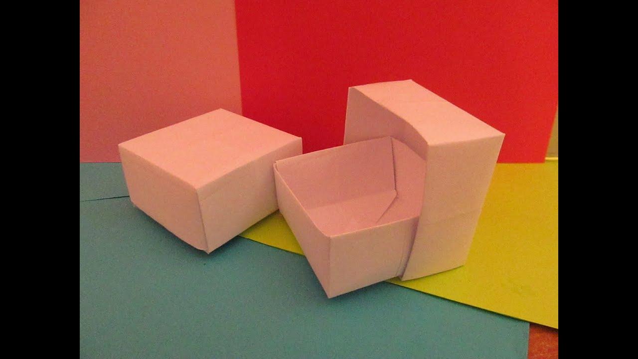 Коробка с двойным дном для фокусов как сделать своими руками