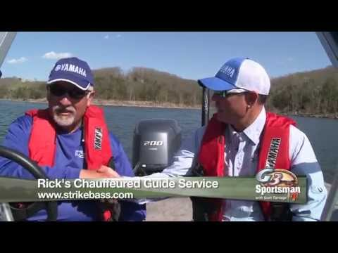 Slamming Bass & Crappie on Table Rock Lake