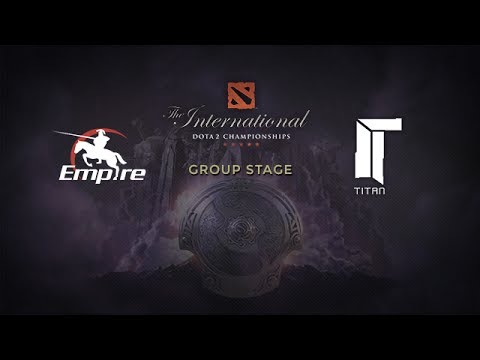 Empire -vs- Titan, The International 4, Group Stage, Day 1
