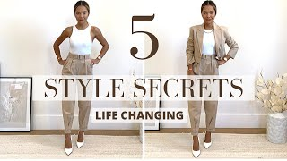 5 Life-Changing Style Secrets | Dressing Rules