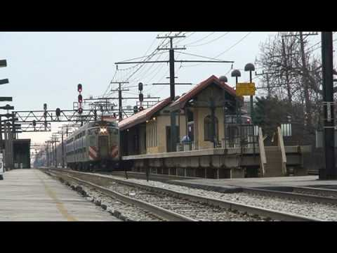 Metra Electric M.U Highliners meet. Metra/IC Electric Line. Filmed on 1-2-09. (c) 9th Street Productions.