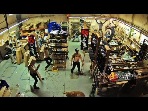 Harlem Shake V3.5 Original Skateboards Office video