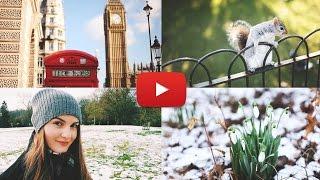 Недельный VLOG #18 | СНЕГ в Лондоне, весна и бЕлки