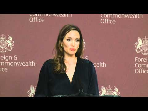 Preventing sexual violence in conflict - Speech by Angelina...