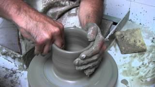 Ceramica al tornio - Allievo Scuola di Ceramica Montelupo Fiorentino