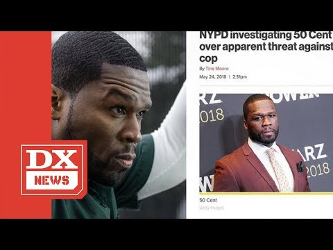 """50 Cent Is Under NYPD Investigation For """"Get The Strap"""" Instagram Catchphrase"""