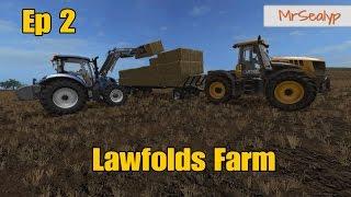 Let's Play Farming Simulator 17 PS4: Lawfolds Farm, Ep 2