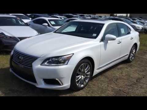 White 2015 Lexus LS 460 AWD SWB Technology Package Review | West Edmonton