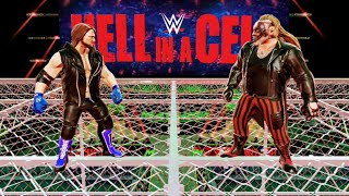 WWE MAYHEM | THE FIEND VS AJ STYLES ON THE TOP OF THE CELL GAMEPLAY🤘