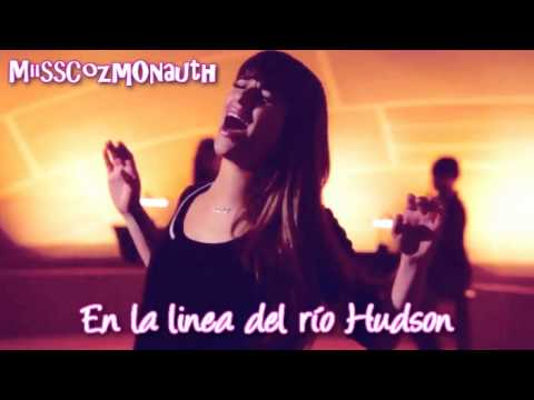 New York State Of Mind - Glee (traducida Al Español) video