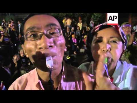 Thai protesters occupy Foreign Ministry compound
