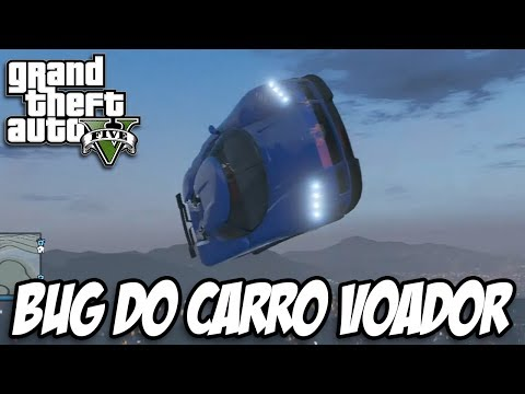 GTA V - Bug do Carro Voador e O PORTÃO DO DEMÔNIO
