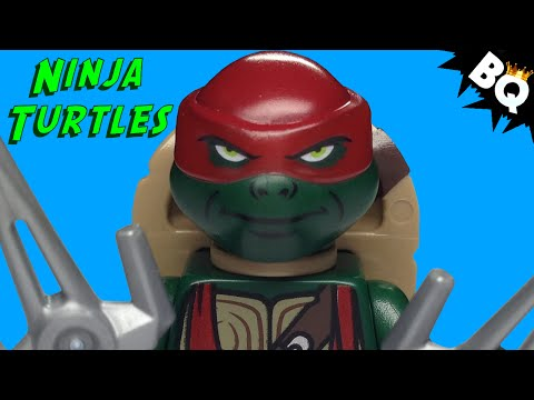 LEGO Ninja Turtles Raphael TMNT Minifigure Comparison