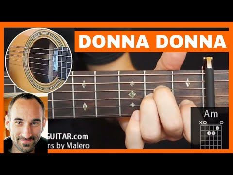 Lesson Guitar - Donna Donna
