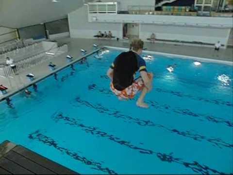 extrem diving 10m tripple splashdiving