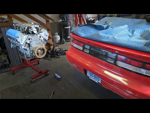 LS1 V8 for my 300ZX!