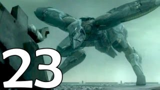 Metal Gear Solid 4 Walkthrough (Commentary) - Part 23 - REX Vs RAY & Naomi's Goodbye (HD)