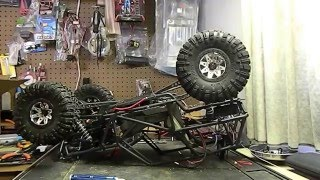 Axial wraith rebuild dual motor and inner fenders part one