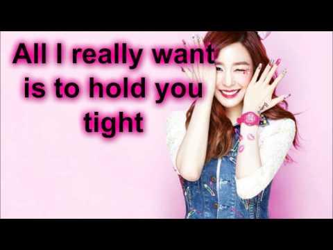 SNSD Tiffany and Seohyun~Sometimes-Lyrics