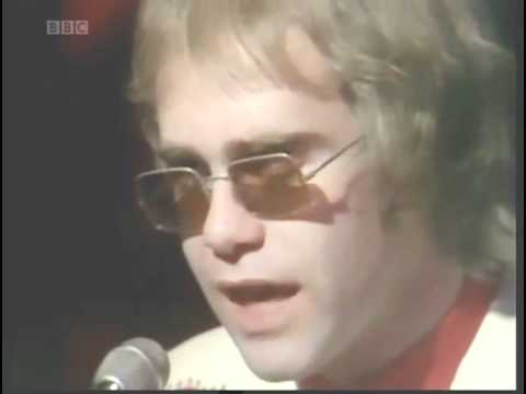 Elton John - Your Song (BBC's Top Of The Pops 1971)