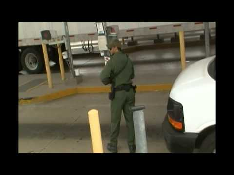 Cop at Suspicionless Checkpoint Starts Barking Orders, But Then Flees from Camera